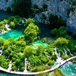 Plitvice lakes from Zagreb