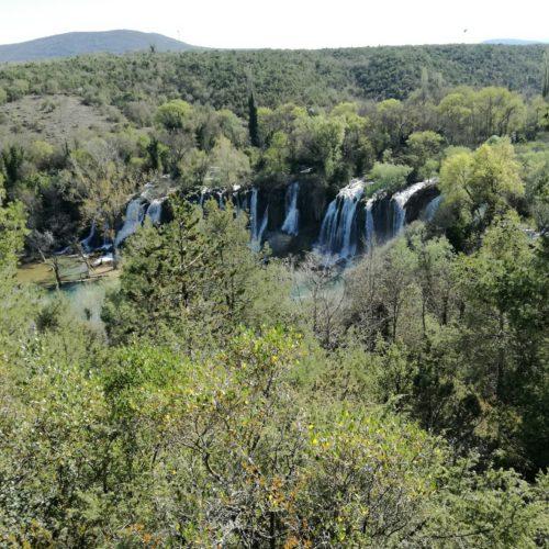 La cascada de Kravica