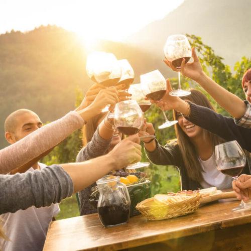 El festival del vino en Eslovenia