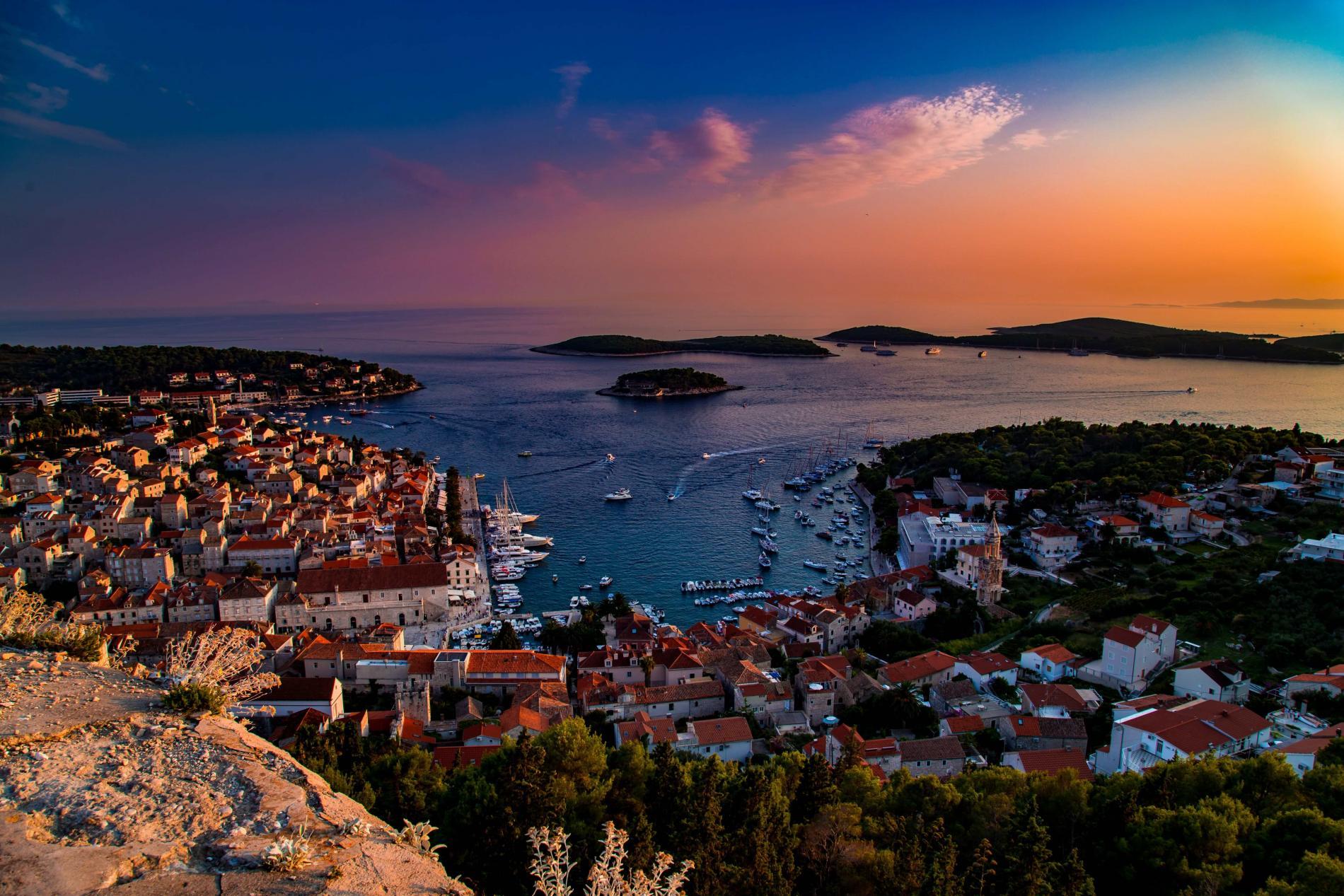 Croacia cruceros Isla Hvar