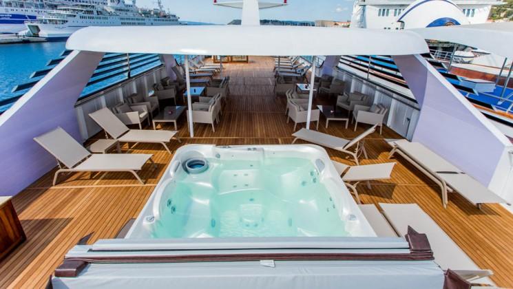 Relax garantizado en su crucero
